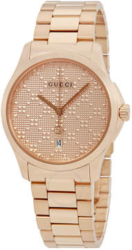 Gucci G-Timeless Men's Rose Gold-tone Watch
