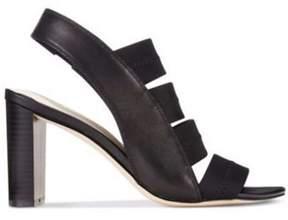 Alfani Womens Rennatah Leather Open Toe Casual Strappy Sandals.