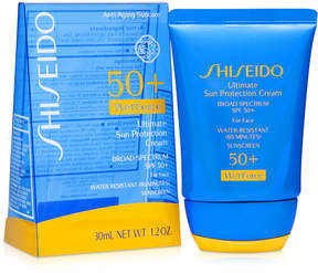 Shiseido Ultimate Sun Protection Cream Broad Spectrum Spf 50+ WetForce, Travel Size