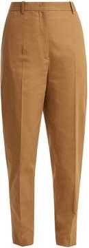 Jil Sander Egbert cotton-blend trousers