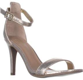 Material Girl Mg35 Blaire2 Ankle Strap Sandals, Gold.