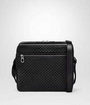 Bottega Veneta Nero Calf Messenger Bag