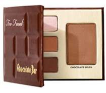 Too Faced Bite-sized Beauties Palette, Chocolate Bar, Travel Size.
