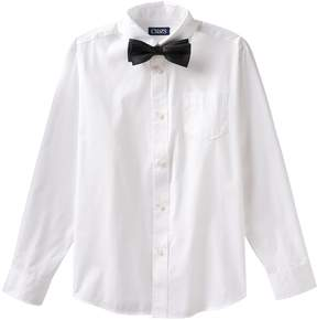 Chaps Boys 4-7 Bow-Tie & Shirt Set