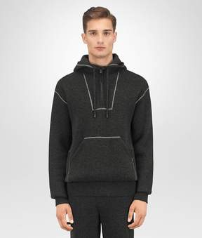 Bottega Veneta Dark Grey Wool Cashmere Pullover