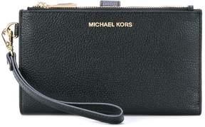 MICHAEL Michael Kors clasp clutch - BLACK - STYLE
