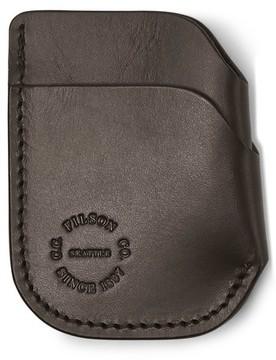 Filson Men's Leather Cash & Card Case - Green