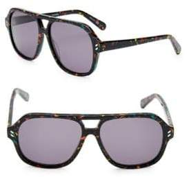 Stella McCartney 55MM Aviator Sunglasses