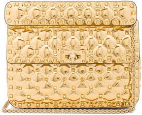 Valentino Medium Metallic Rockstud Spike Shoulder Bag