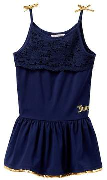 Juicy Couture Lace Top Tank Dress (Big Girls)