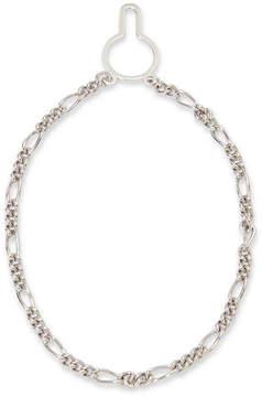 Asstd National Brand Sterling Silver Figaro Link Tie Chain