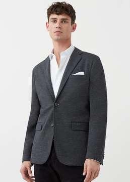 Mango Outlet Slim-fit plush blazer