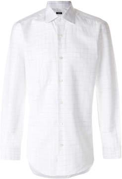 Barba classic button shirt