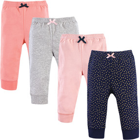 Luvable Friends Gold Dot Joggers - Set of Four
