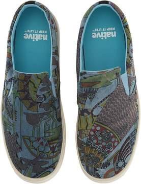 Native Miles Denim Print Shoes
