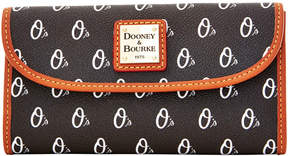 Dooney & Bourke MLB Orioles Continental Clutch - ORIOLES - STYLE