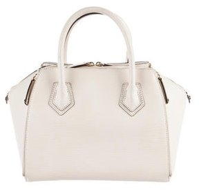 Rebecca Minkoff Leather Perry Satchel - NEUTRALS - STYLE