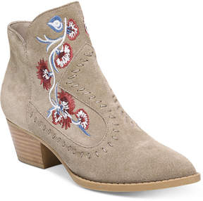 Carlos by Carlos Santana Vivian Embroidered Western Booties Women's Shoes