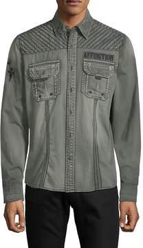 Affliction Men's Air Combat Cotton Shirt