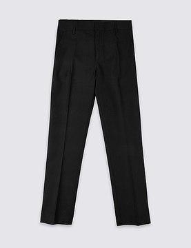 Marks and Spencer Senior Boys' Flat Front Skinny Leg Trousers