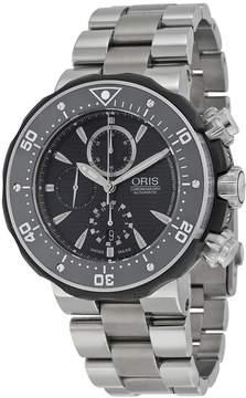 Oris Open Box Pro Diver Black Dial Titanium Open Box Men's Watch