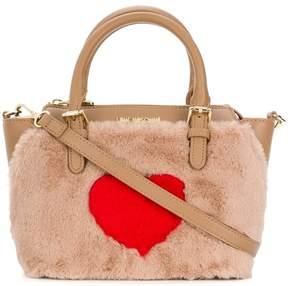 Love Moschino faux fur cross body bag