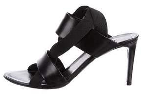 Balenciaga Leather Slingback Sandals