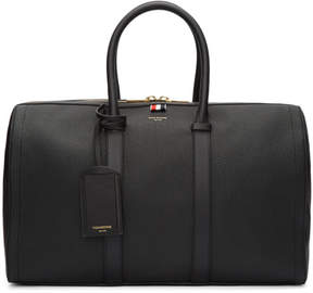 Thom Browne Black Unstructured Holdall Bag