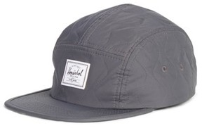 Herschel Men's Glendale Quilted Five-Panel Cap - Grey