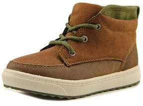 Osh Kosh Sander-b Toddler Round Toe Canvas Brown Sneakers.