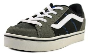 Vans Transistor Youth Us 2 Black Fashion Sneakers.