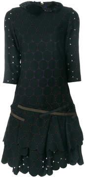 Kolor cut out layered circle dress