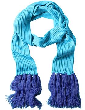 La Fiorentina Turquoise Fringe Scarf