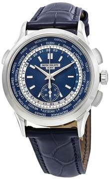 Patek Philippe Complications Blue Dial Automatic Men's 18K White Gold Watch
