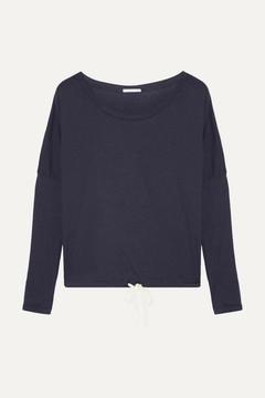 Eberjey Heather Jersey Pajama Top - Storm blue