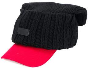 DSQUARED2 ribbed baseball cap