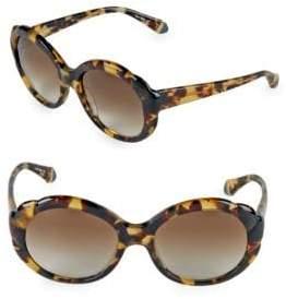 Zac Posen Rita 56MM Oval Sunglasses