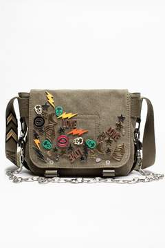 Zadig & Voltaire Zadig Voltaire Ready-Made Xs Canvas Bag