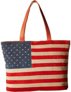 Scully Rockin America Tote Bag Tote Handbags