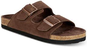 Dr. Scholl's Men's Fin Suede Slip-On Sandals Men's Shoes