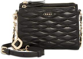 DKNY Lara Double Zip Crossbody, Created for Macy's