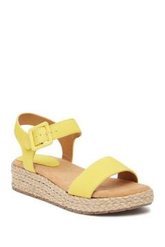 Kenneth Cole Reaction Calm Water Espadrille Platform Sandal