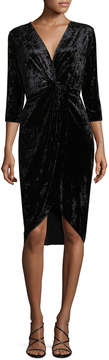 Alexia Admor Women's Velvet Sheath Dress