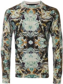 Frankie Morello printed sweater