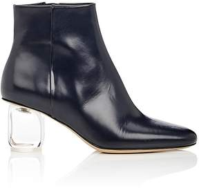 The Row Women's Bowin Spazzolato Leather Ankle Boots