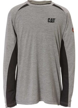 Caterpillar Flame Resistant Long Sleeve Performance Crew (Men's)