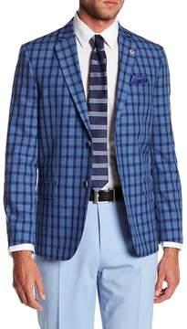 Ben Sherman Dacre Plaid Casual Fit Blazer