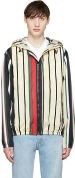 MSGM Multicolor Striped Windbreaker Jacket