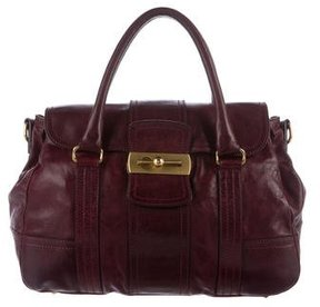 Escada Smooth Leather Satchel