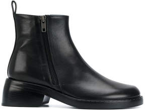 Ann Demeulemeester double zip boots
